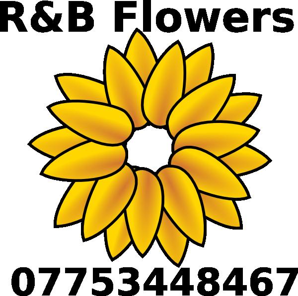 600x597 Sunflower Logo Clip Art