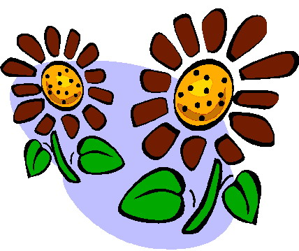 428x359 Sunflower Clipart 1 Image