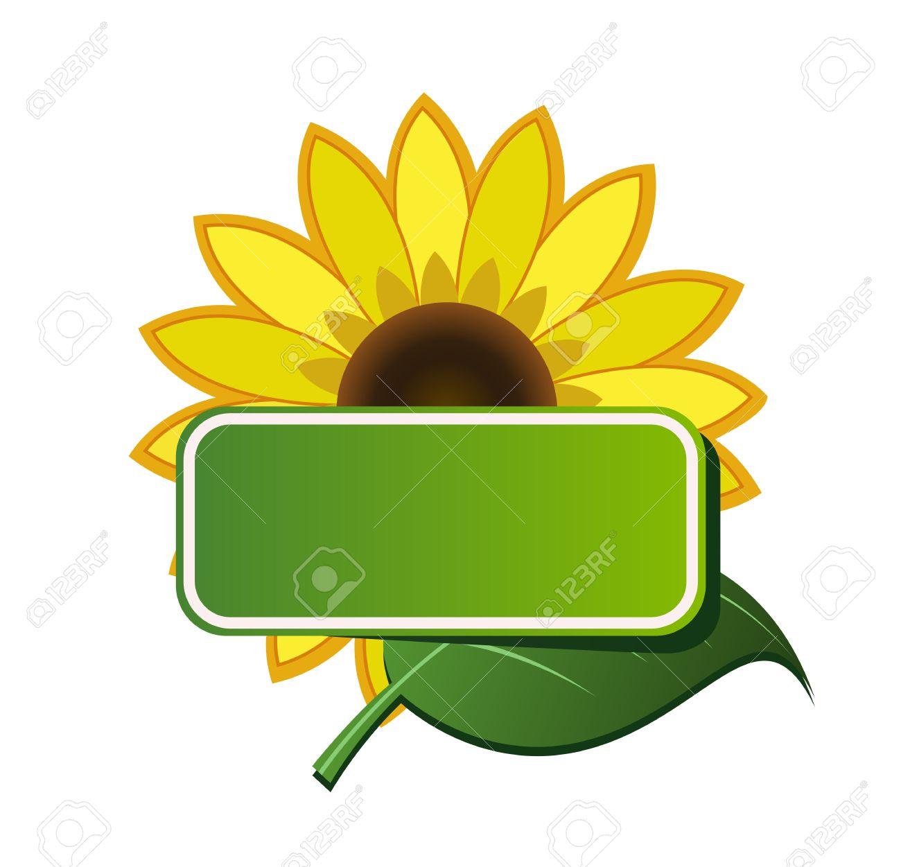 1300x1251 Sunflower Clipart Corner Border