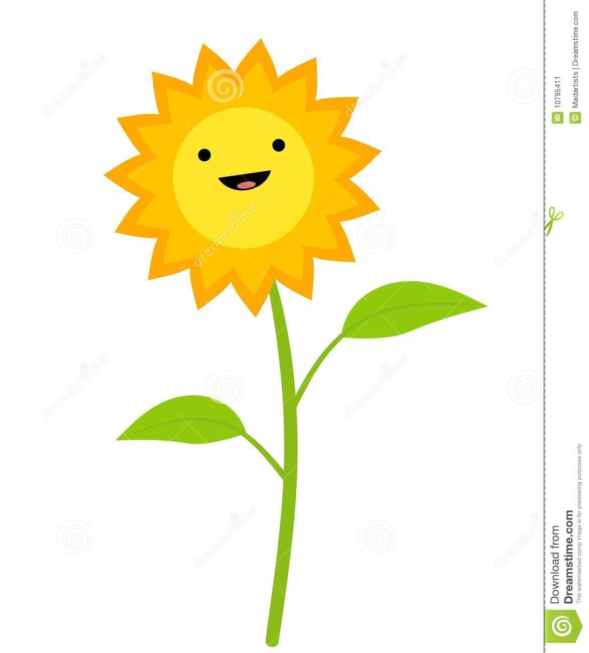 1173x1300 Sunflower Clipart Cute