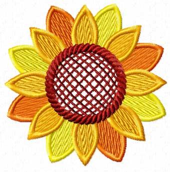 340x345 Sunflower