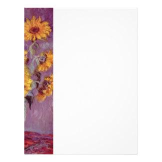 324x324 Sunflower Letterhead Zazzle