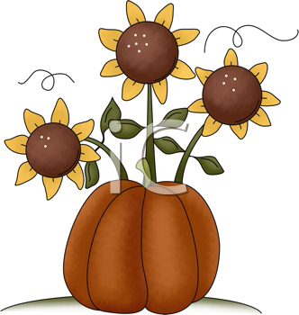 332x350 Royalty Free Sunflower Clip Art, Flower Clipart