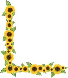 236x271 Sunflower Clipart Divider