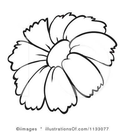 400x420 Royalty Free Flower Clipart