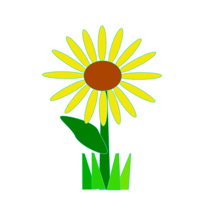 Sunflower Clipart Free