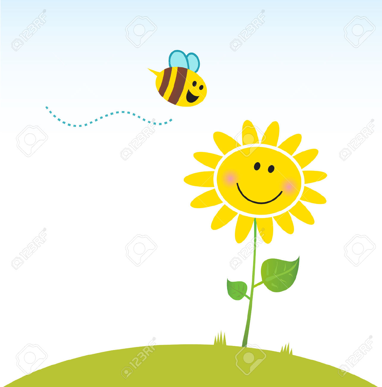 1284x1300 Sunflower Bee Clipart, Explore Pictures