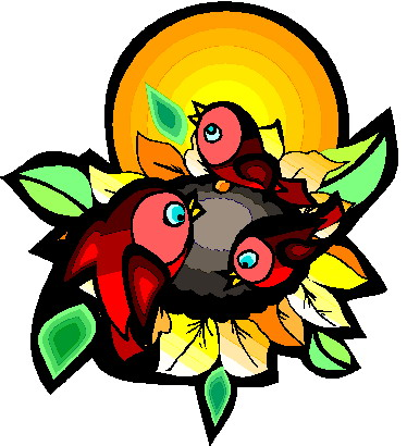 374x410 Sunflower Clipart Free Clip Art