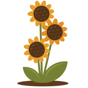 300x300 Sunflower Clipart Tree