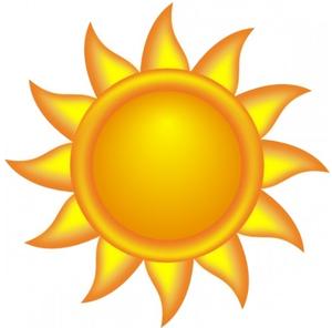 300x296 Top 81 Sun Clip Art