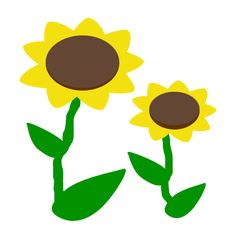236x236 Small Flowers Images Cartoon Sunflower Clip Art