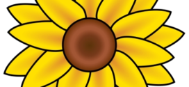 272x125 Sunflower Stuff My Obsesion Sunflowers Sunflower Clip Art