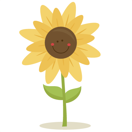 432x432 Cute Sunflower Clipart, Free Cute Sunflower Clipart