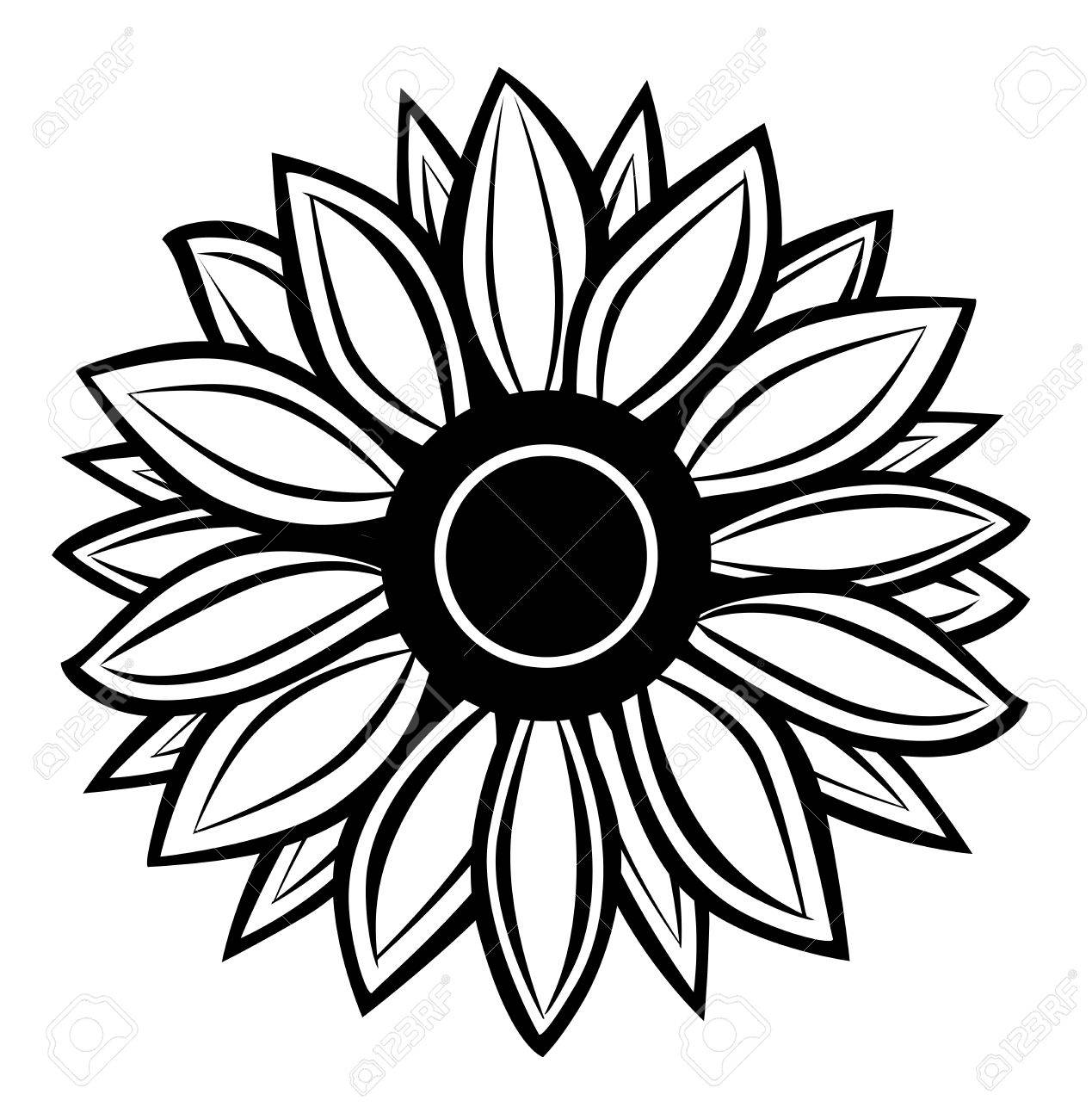 1269x1300 Vector Sunflower Royalty Free Cliparts, Vectors, And Stock