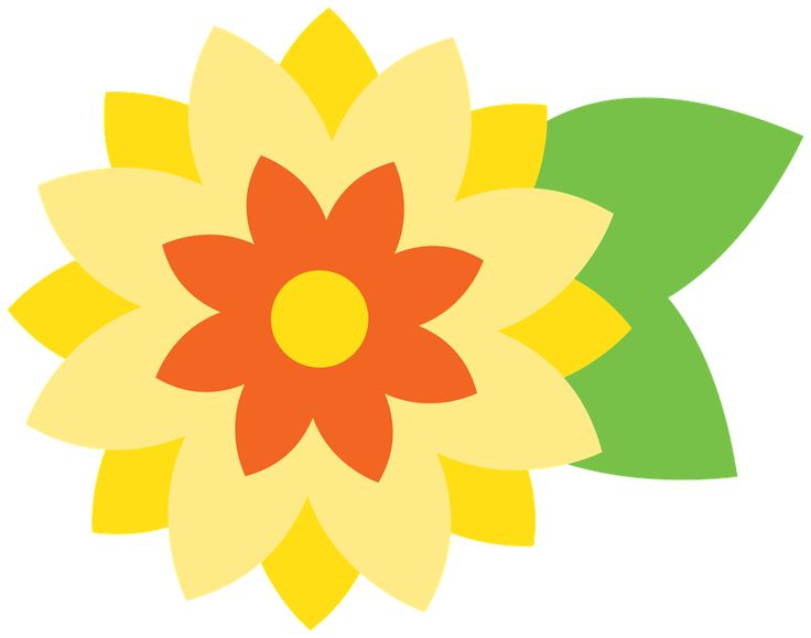 Sunflower Graphics Clipart