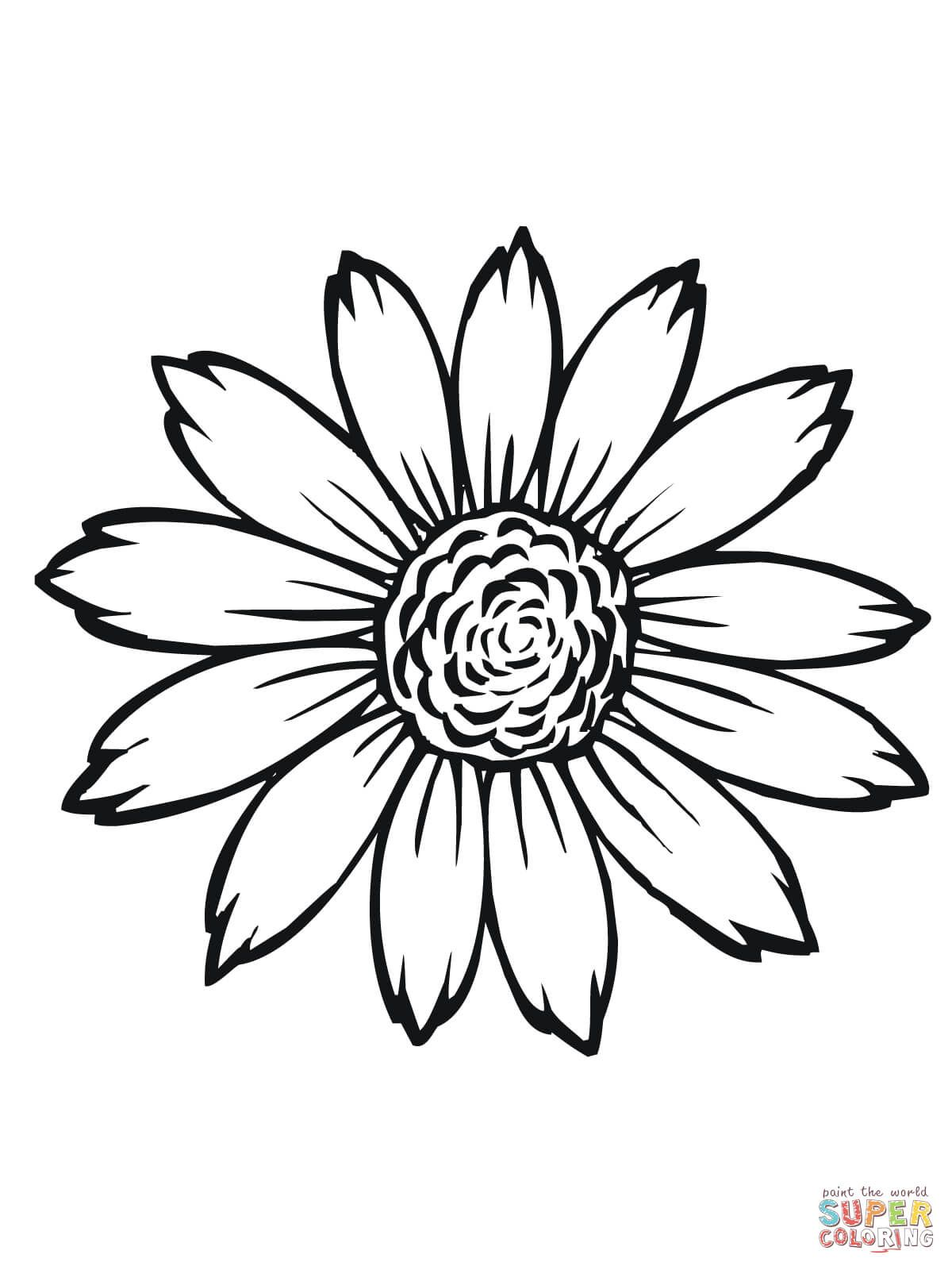 1200x1600 Sunflower Flower Coloring Pages Printable Wedding Stuff