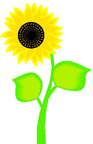 315x488 Sunflower Clip Art Free Printable Clipart 7