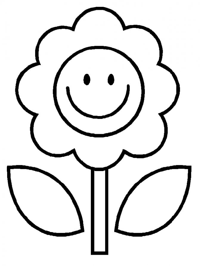 671x894 Coloring Pages Extraordinary Coloring Pages Flower Free