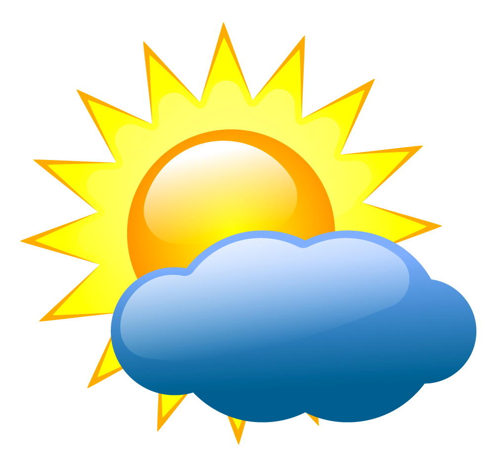 1007x959 Sunny Clipart Nice Weather