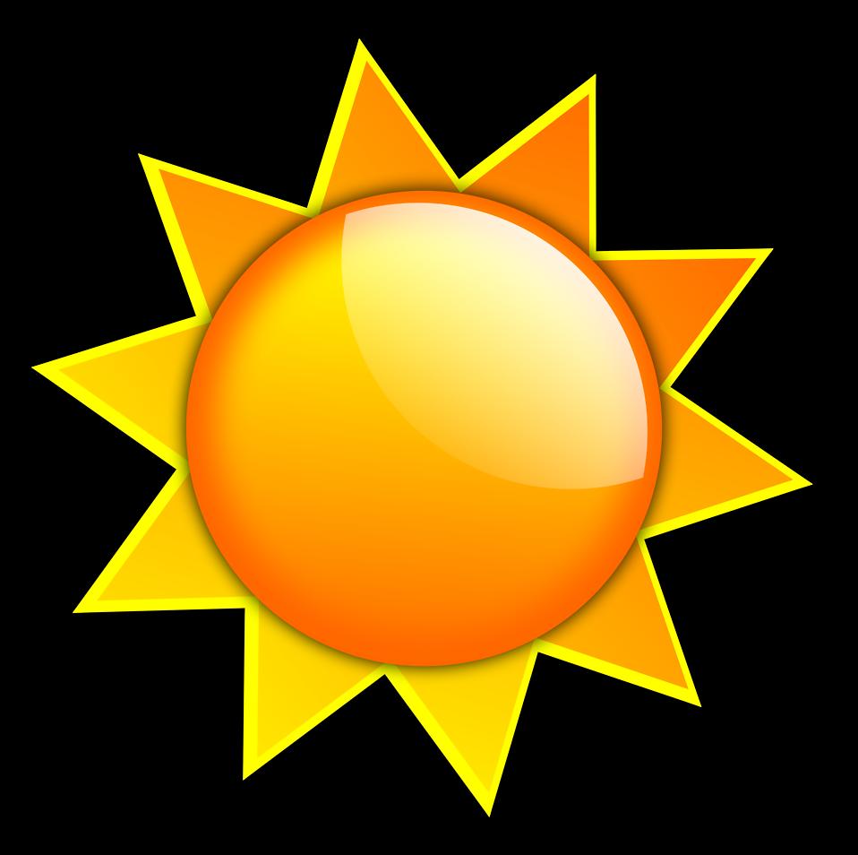 958x954 Sunny Clipart Transparent