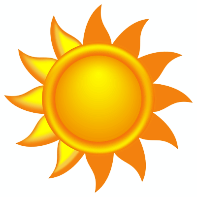 400x400 Sunny Weather Clipart Free Images 2