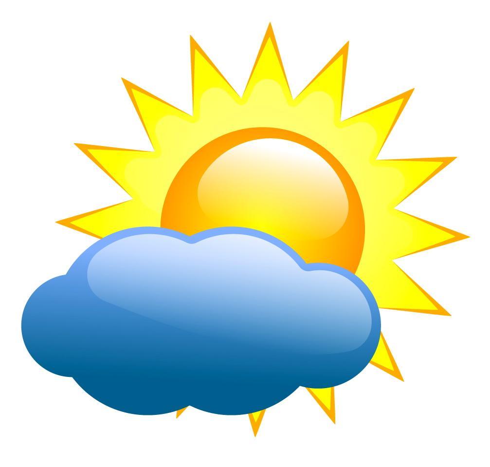 1007x959 Unique Sunny Weather Clip Art Cdr Free Vector Art, Images