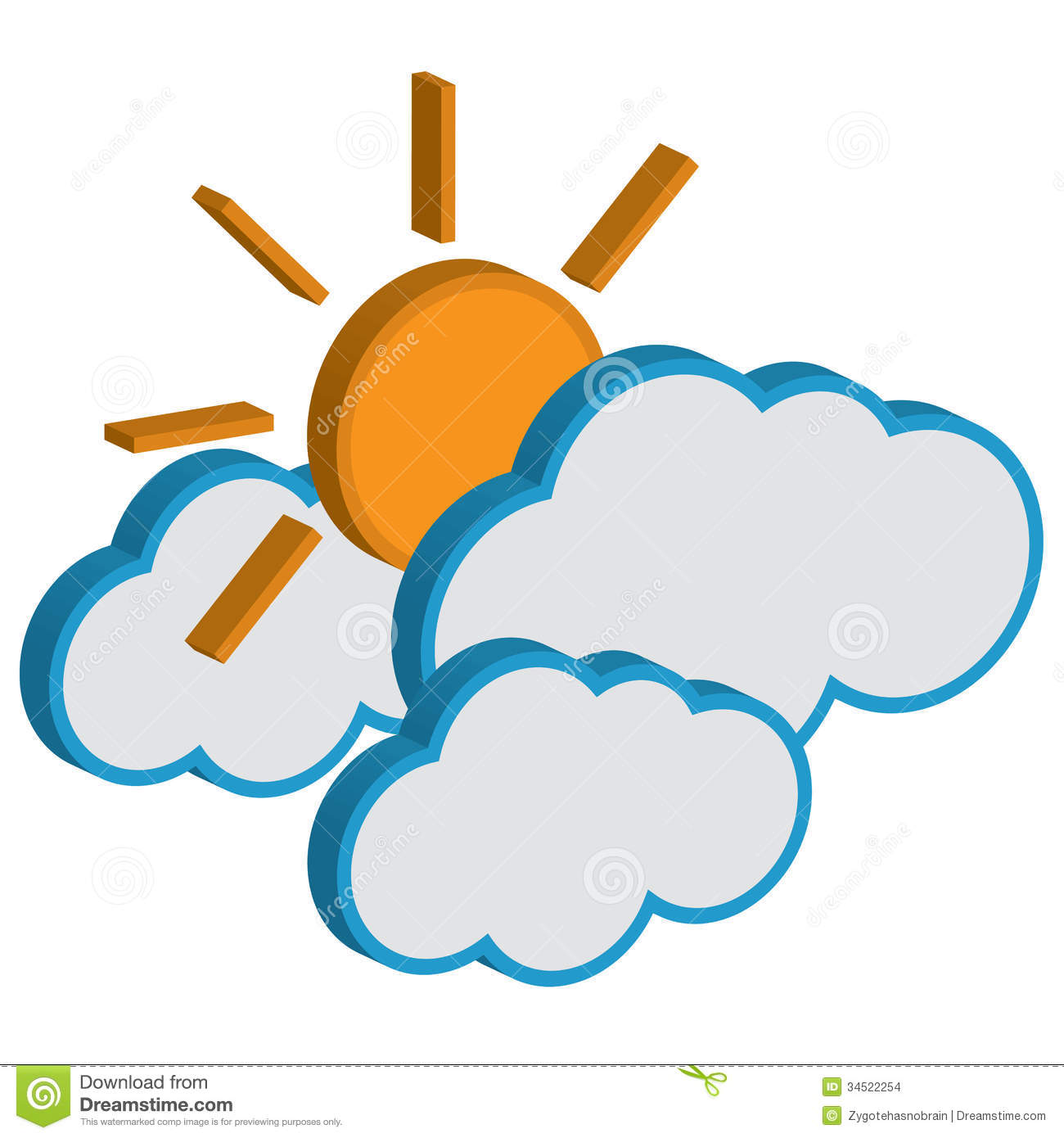 1300x1390 Weather Forecast Clipart
