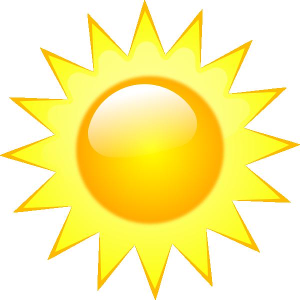 600x600 Weather Symbols Clip Art