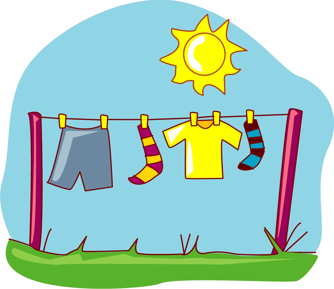 1083x936 Trunk Clipart Sunny Day Clothes