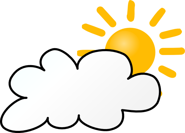 600x433 Cloudy Weather Clip Art