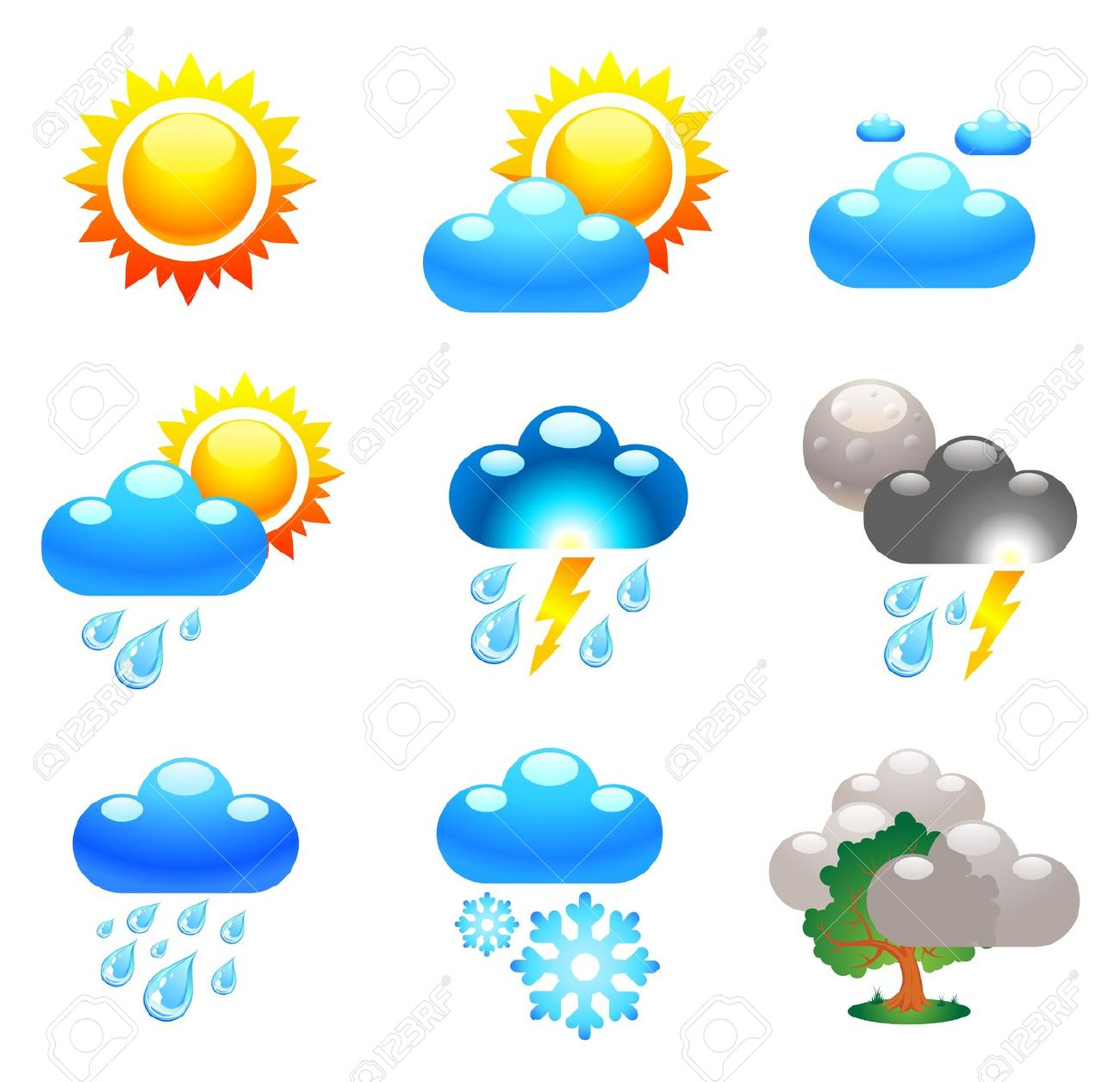 1300x1256 Sunny Clipart Weather Forecast Symbol