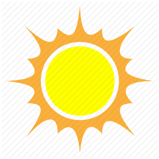 512x512 Abstract, Clear, Forecast, Sun, Sunny, Temperature, Weather Icon