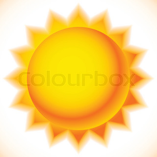 320x320 Sun Graphics Isolated On White. Summer, Sunny Weather, Happiness
