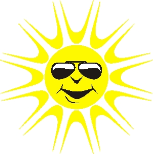 299x300 Sunny Weather Clipart