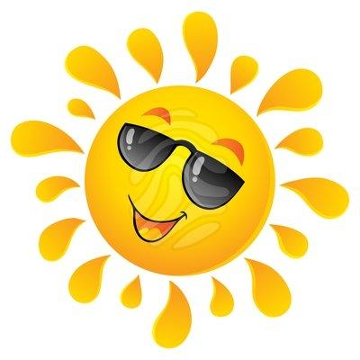 400x400 Sunny Weather Clip Art Symbols Clip Art Calendar Ideas