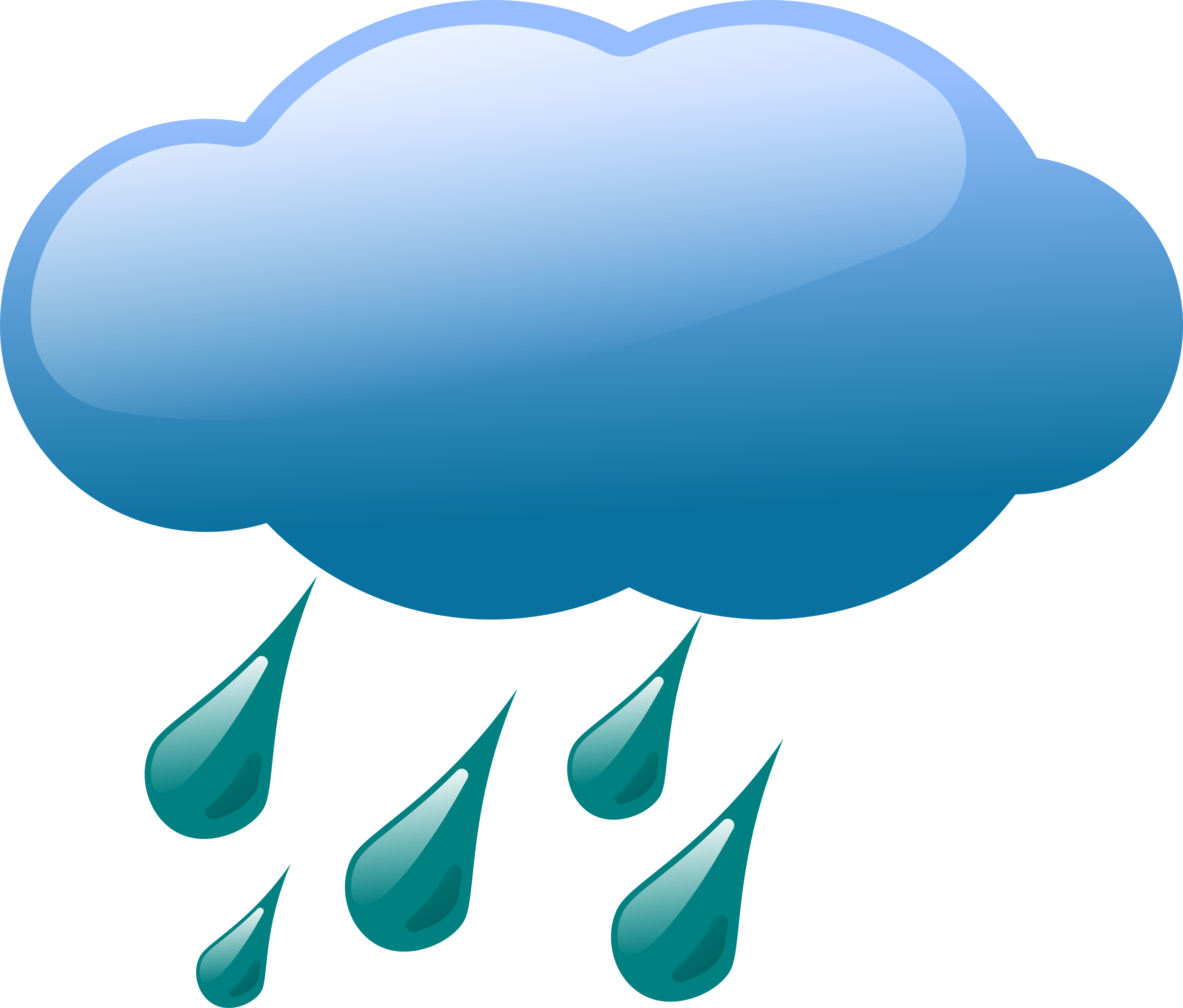 2400x2045 Unique Mostly Sunny Weather Symbol With Periods Isolated Showers
