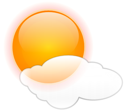 404x359 Fresh Weather Clipart Mostly Sunny Weather Sun Mostly Sunny Ml