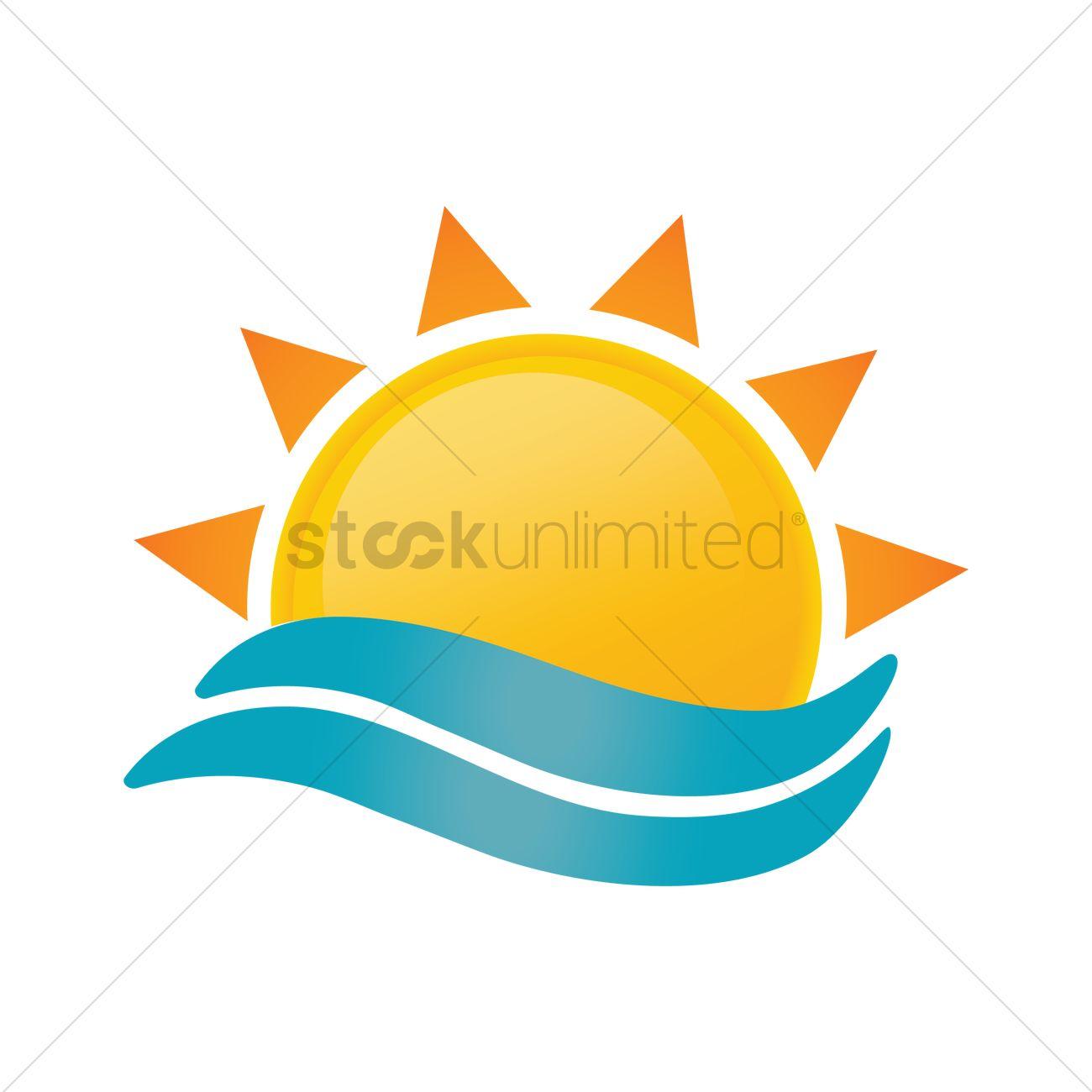 1300x1300 Sunrise Symbol Vector Image