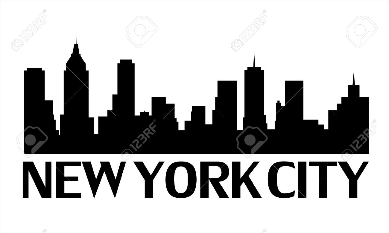 1300x779 New York Clip Art Black And White Clipart Panda