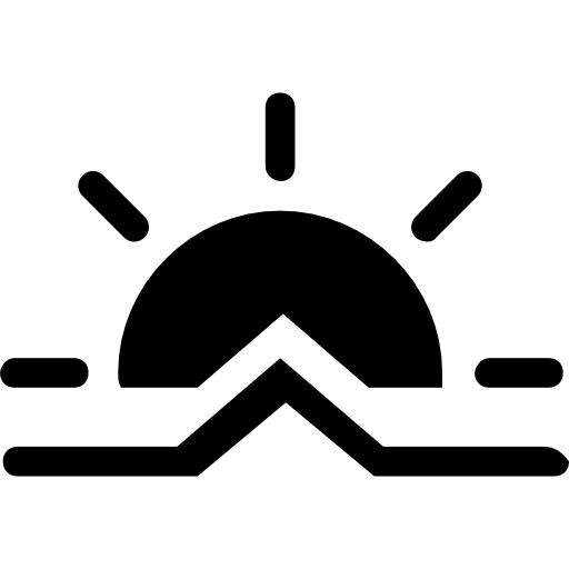 512x512 Sunrise Weather Symbol