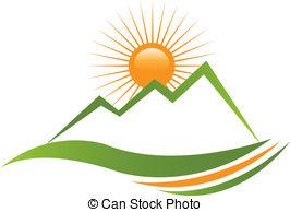 266x194 Horizon Clipart Mountain Sunrise