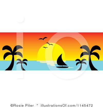 400x420 Sunrise Horizon Clip Art Cliparts