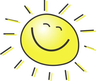 397x335 Sunrise Clipart Good Morning