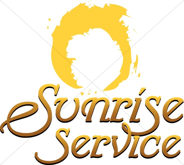776x698 Sunrise Service Clipart