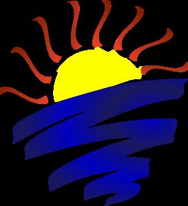 273x299 Sunset Sun Clipart, Explore Pictures
