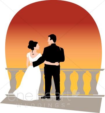 361x388 Sunset Clip Art Couples Clipart