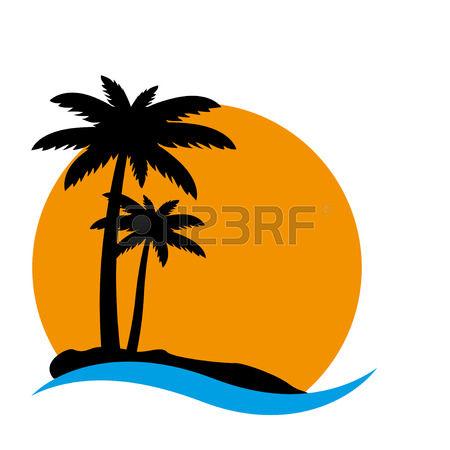 450x450 Sunset Clipart Hawaii Island
