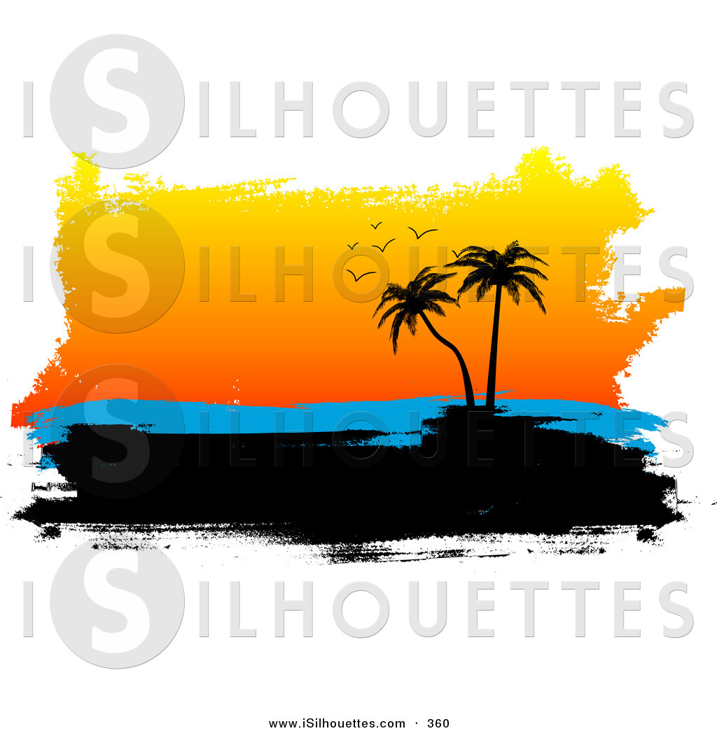1024x1044 Sunset Clipart Silhouette