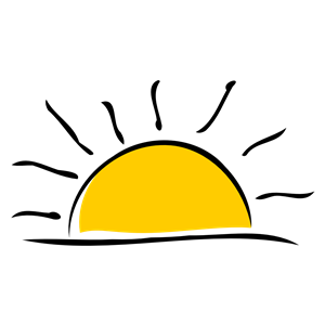 300x300 Sunset Clipart, Cliparts Of Sunset Free Download (Wmf, Eps, Emf
