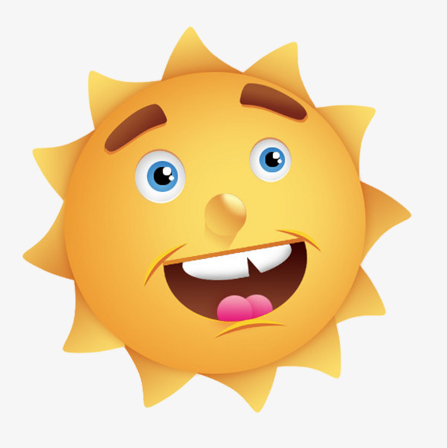 650x651 Cartoon Sunshine, Laugh, Cartoon, Sunlight Png Image For Free Download